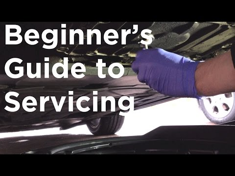 How To Service A Car  (EASY Guide)