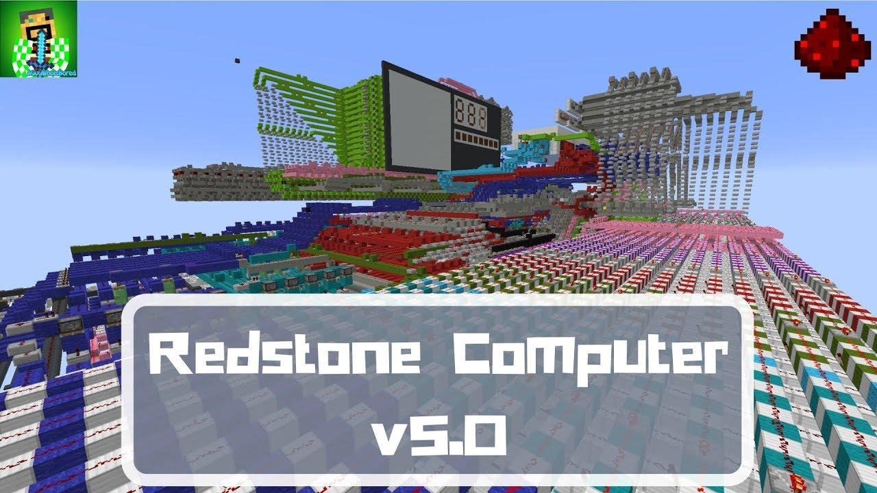 [Minecraft Computer Engineering] - Quad-Core Redstone Computer v11.11 [11k  sub special!]