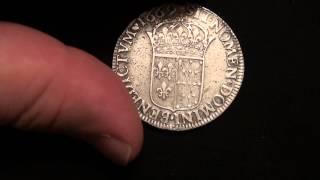 Monnaies royales argent Louis XIV