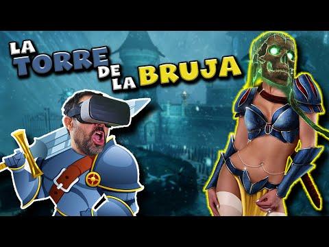ESCAPANDO DE LA TORRE DE LA BRUJA EN REALIDAD VIRTUAL| Witching Tower