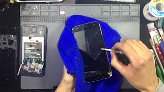 BRAVIS A553 Discovery Dual Sim, how to disassembly