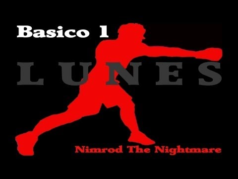 Rutina de artes marciales dia LUNES basico 1 / Entrenamiento Nimrod The Nightmare