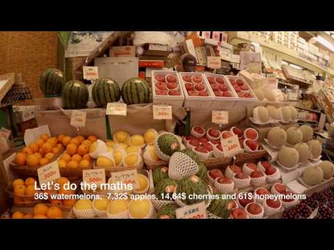 Shinjuku Fruit Merchant, Tokyo