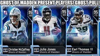 GHOST OF MADDEN PRESENT PLAYERS! 95 OVERALL GHOST PULL! NEW GHOSTS! | MADDEN 19 ULTIMATE TEAM