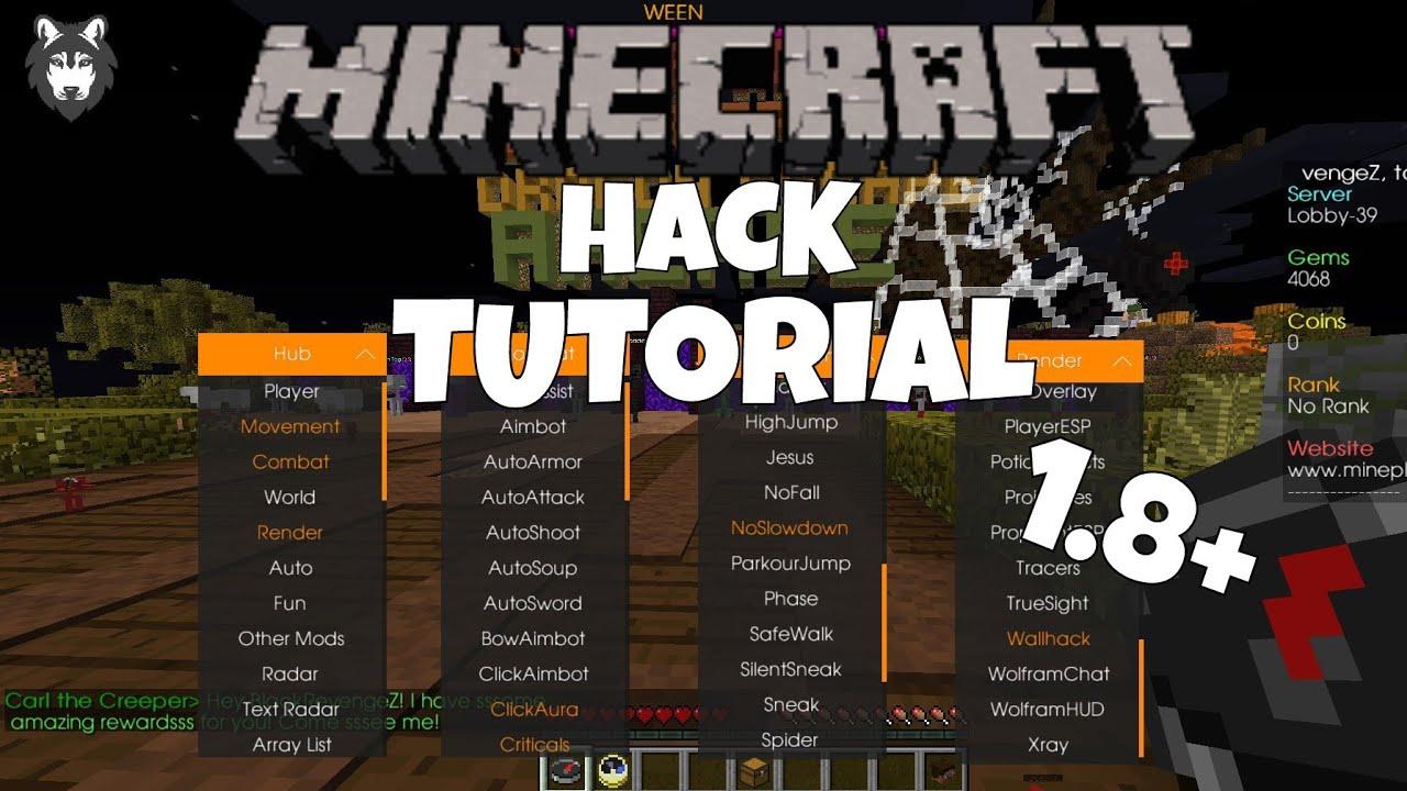 Minecraft Hack Client Installation Tutorial Deutsch YouTube - Minecraft spieler finden hack
