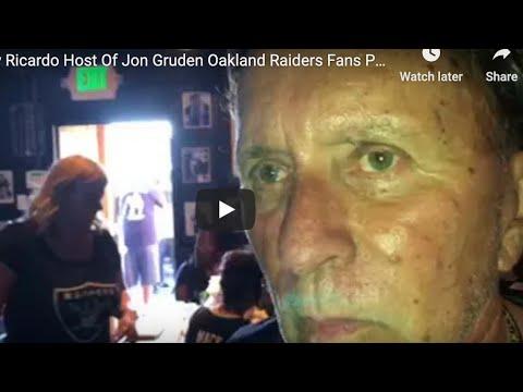 Remembering Ricky Ricardo And Oakland Raiders Nation With Brandon Jones On Livestream