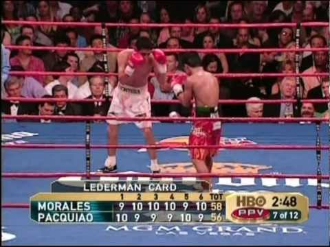 Morales vs Pacquiao 1 Full fight HD