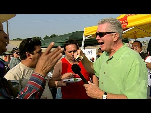 Visiting with Huell Howser: Green Chilis