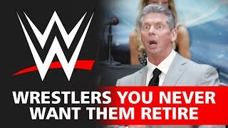 Top 10 WWE Wrestlers You Never Want Them Retire