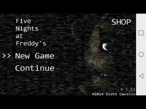 Playing Five Nights at Freddy's glad I make it part 1