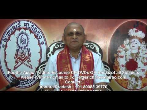 Mundakopanishad : Day 31 : 3rd Mundakam - 2nd Khandam - Mantram 2 3 : Sri Chalapathirao