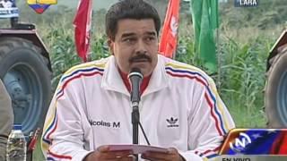 Presidente Nicolás Maduro en Campamento en Lara (completo)