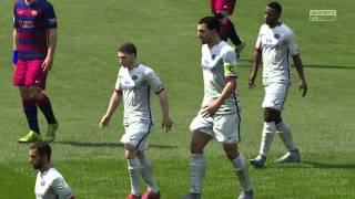 FIFA 16 GAMEPLAY- FC BARCELONA VS PSG (PS4)