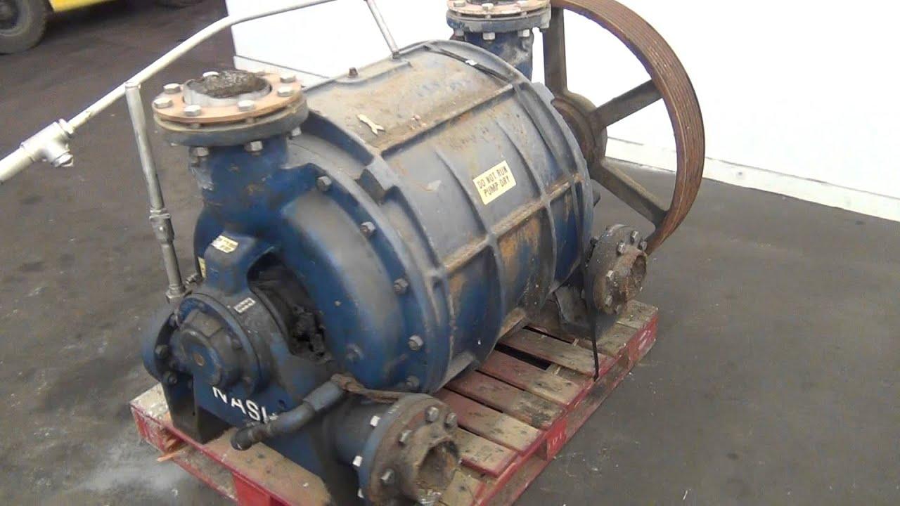 Used Nash Elmo Liquid Ring Vacuum Pump Model Cl 2002
