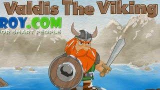 Valdis The Viking Level1-8   Walkthrough