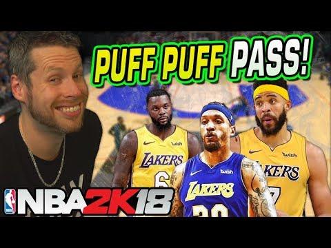 PUFF PUFF PASS CHALLENGE NBA 2K18