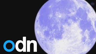Rare Blue Moon To Occur On Friday 31st July