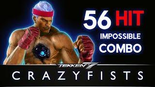 Tekken 7 - Bryan Fury 56 Hit Impossible Combo thumbnail