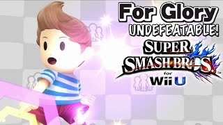WELCOME BACK! | Undefeatable! ~ LUCAS!! Ep. 1 ~ Super Smash Bros for Wii U - For Glory (HD)