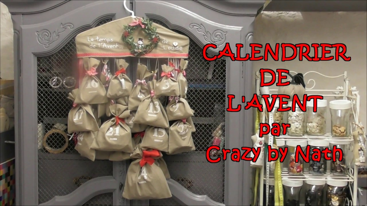 couture cr ative calendrier de l 39 avent youtube