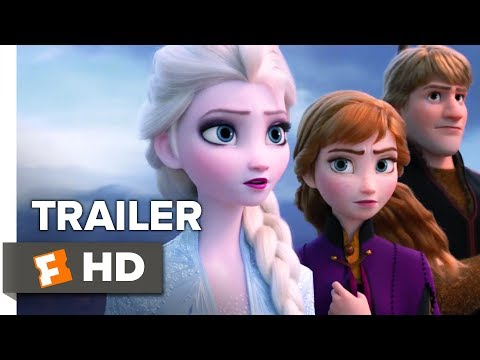 David Fisch - This JUST dropped...Frozen 2 teaser!