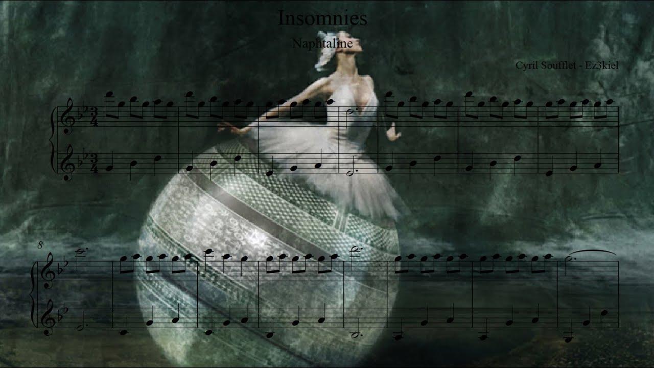 photo partition piano insomnies ez3kiel