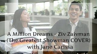Download Lagu A Million Dreams - Ziv Zaifman (The Greatest Showman) | Cover With Jane Carissa Mp3