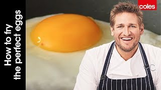 How to fry the perfect eggs with Curtis Stone