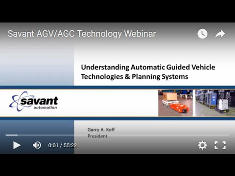 Savant AGV/AGC Technology Webinar