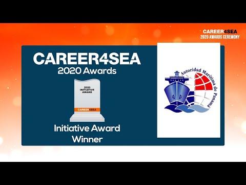 Panama Maritime Authority receives the 2020 CAREER4SEA Initiative Award