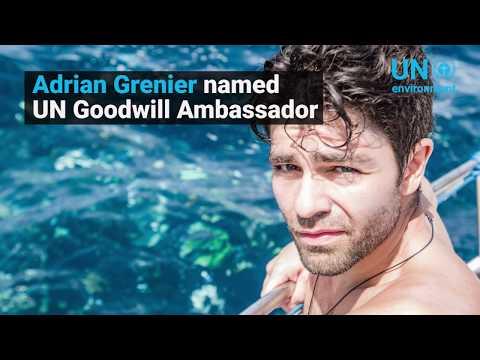 Adrian Grenier designated UN Environment Goodwill Ambassador