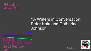 Young Adult Fiction Writers in Conversation   Bare Lit Festival