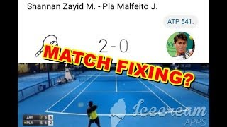 Jaume Pla Malfeito - Judge by yourself - Tennis match fixing
