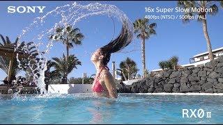 Sony   Cyber-shot   RX0 II - Super slow motion