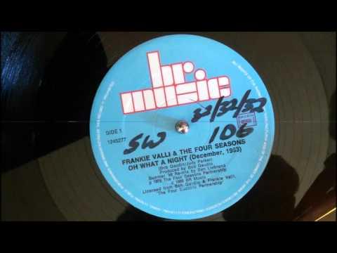 Frankie Valli - Oh What A Night - Ben Liebrand Re-Mix 1988
