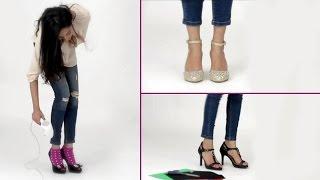 Video 6 Tricks To Make Your High Heels Pain Free - Shoe Bite Hacks - Glamrs download MP3, 3GP, MP4, WEBM, AVI, FLV Juni 2018