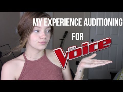 My Experience Auditioning for The Voice + My Actual Audition
