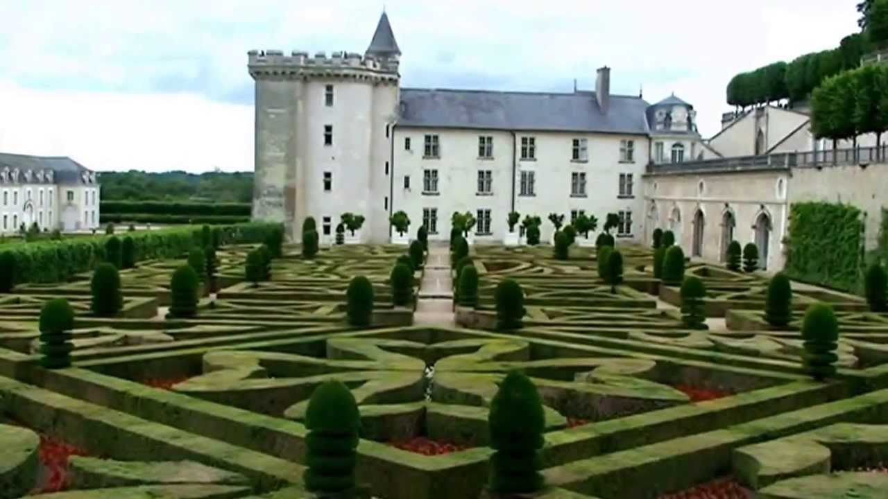 patrimoine de france les jardins du chateau de villandry