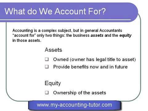 Accounting Basic Concepts | Dịch vụ nhận làm kế toán bán thời gian ngoài giờ