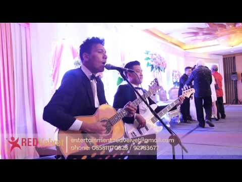 Your Body is A Wonderland - John Mayer (Acoustic Cover) at ARYADUTA Hotel | Red Velvet Entertainment