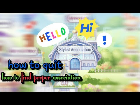 how to enter association in love nikki and how to quit #lovenikki #miraclenikki #guide