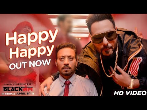 Mix - Happy Happy Video Song | Blackmail | Irrfan Khan | Badshah | Aastha Gill