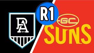 R1 Winner Margin Comp/Round 1 AFL Tips 2020