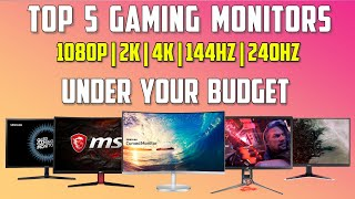 In today's video we will talk about some cheap gaming monitors including 1080p 75hz ,1080p 144hz 240hz , 1440p 60hz and or 2k 4k...