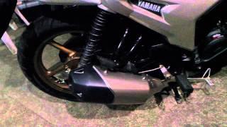 Yamaha SZ R with FZ 16 muffler