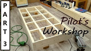 How to build the Ultimate Workbench - part 3 - Finishing the top frame