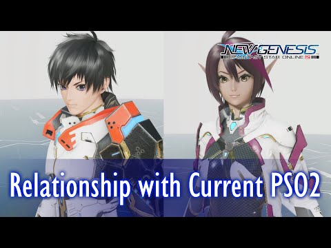 [4K] Latest Phantasy Star Online 2 New Genesis Follow-Up Video