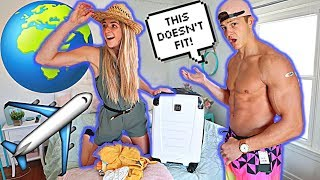 BUYING EACH OTHERS OUTFITS *BF vs. GF*