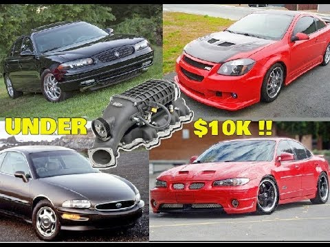 5 Cars That Came SUPERCHARGED! from Factory for UNDER $10K