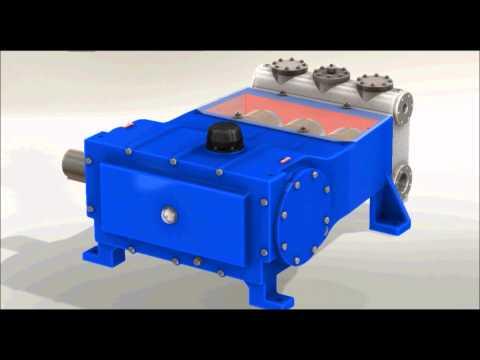 Rodelta PLR API 674/ISO 13710 Triplex Reciprocating Plunger Pump